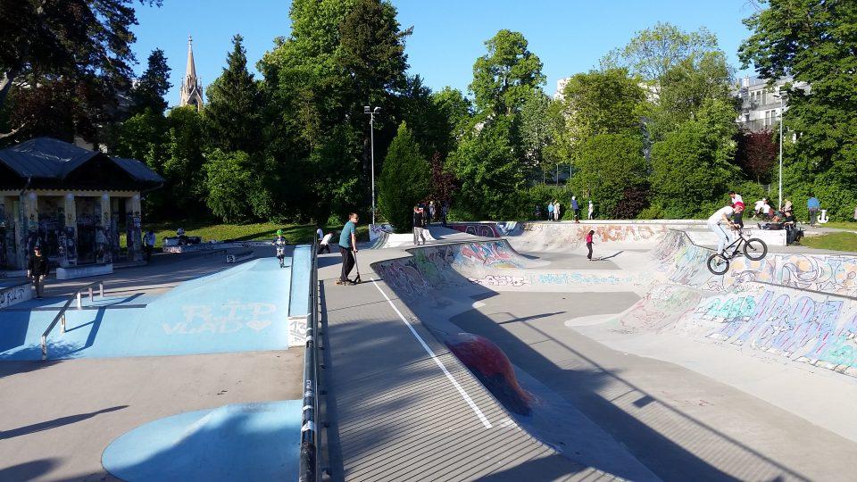 Skatepark Penzing-schöner Tag