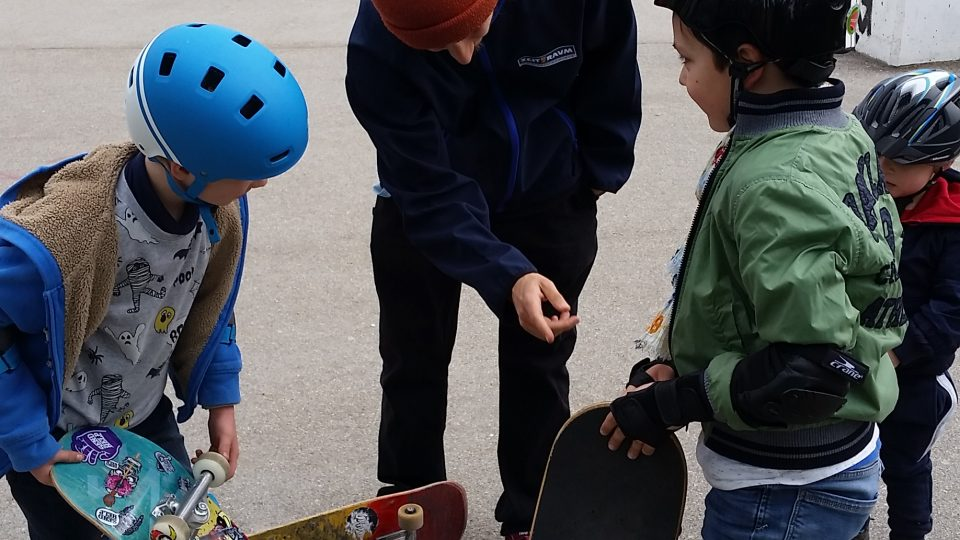 Skatepark Penzing - Erster Skateboard Workshop - 13.04.19