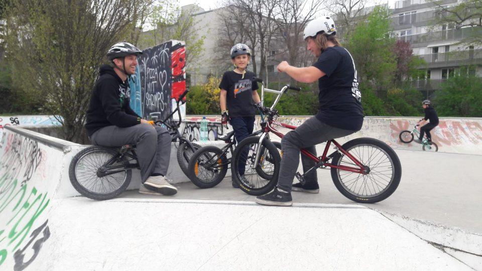 Erster BMX-Workshop mit Matt - 05.04.19