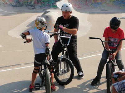 BMX_Workshop am 17.07.19 im Goodlands Skatepark Penzing.