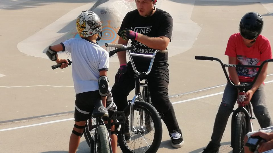 BMX_Workshop am 17.07.19 im Goodlands Skatepark Penzing.