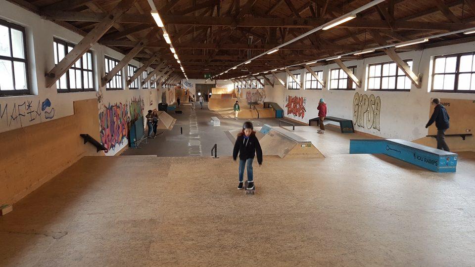 Skatehalle in Wels