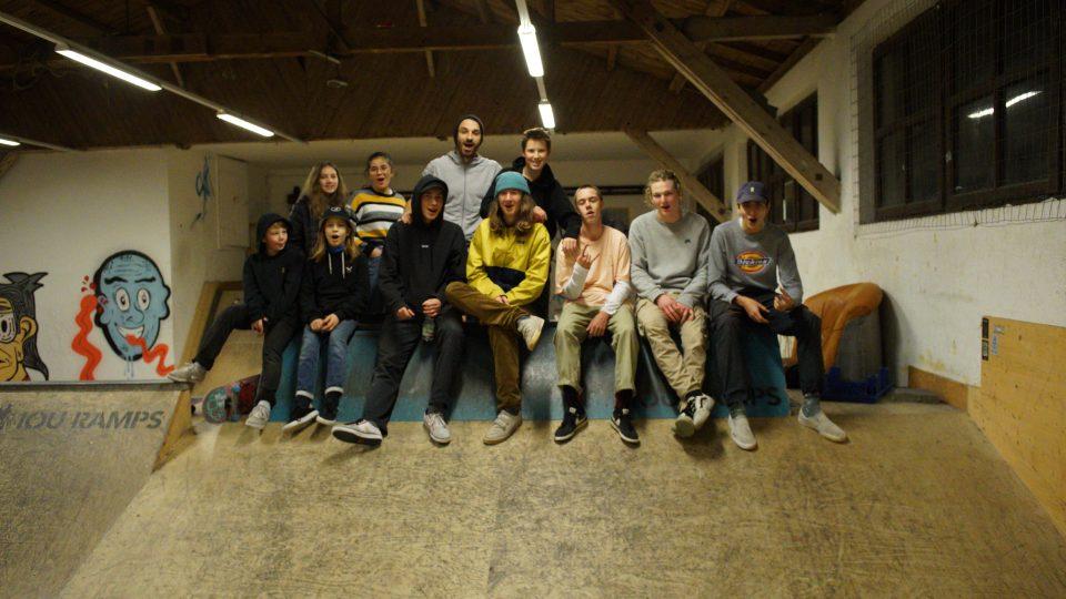 Skatehalle Wels - Gruppenfoto