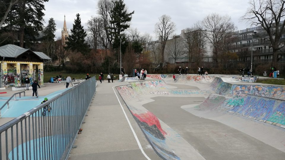 Der Park ist wieder voll!