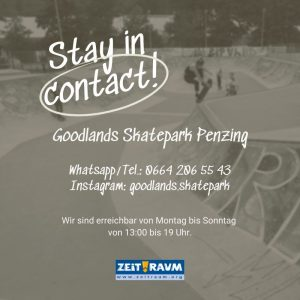 Stay in Contact!