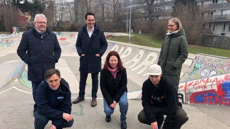 Gruppenfoto mit BV und Stadtrat