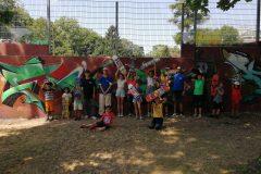 Gruppenfoto Summer Skate Camp