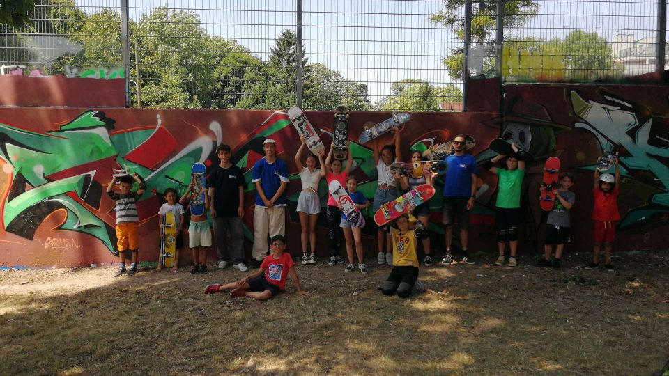 Gruppenfoto - Summer Skate Camp